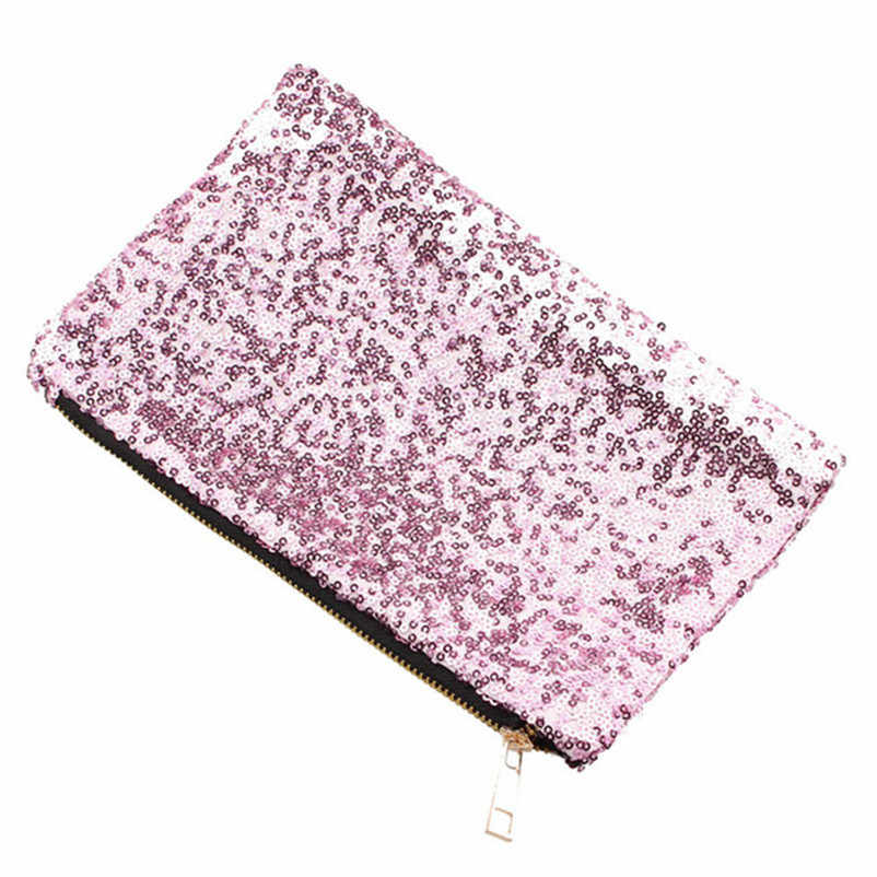 R1Fashion Ladies Handbags Day Clutch Luxury Glitter Sequins Spangle Handbag  Party Evening Clutch Bag Wallet Purse d8925f598397