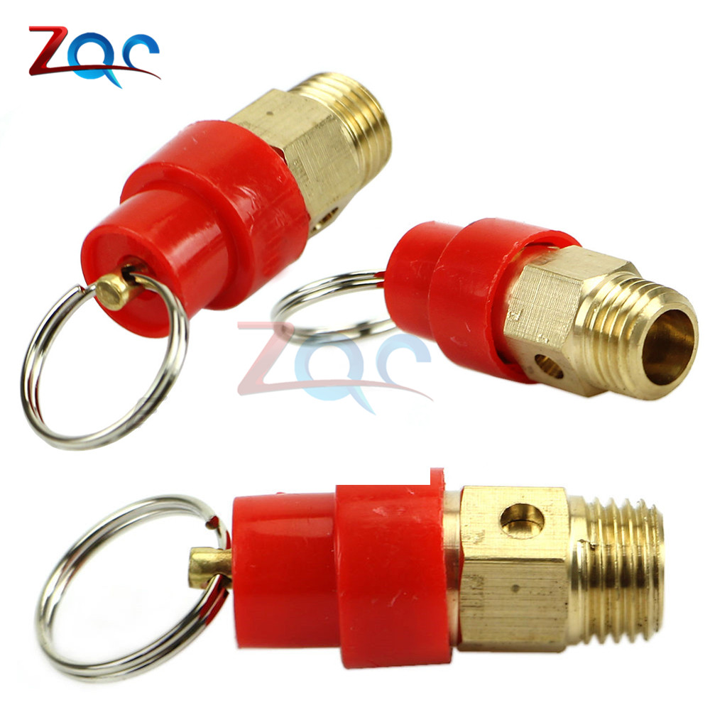 1/4'' 1KG 3KG 4KG 5KG 6KG 7KG 8KG 10KG BSP Air Compressor Safety Release Valve Pressure Relief Regulator For Air Compressor(China)