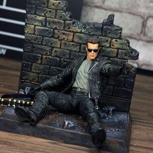 Image 5 - NECA Terminator 2 Judgment Day T 800 Arnold Schwarzenegger PVC Action Figure Model Toy Christmas Gift
