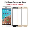 9H Premium Full Cover Tempered Glass For HTC M10 / 10 Lifestyle Screen Protector Protective Film, Free Shipping&Tracking Number