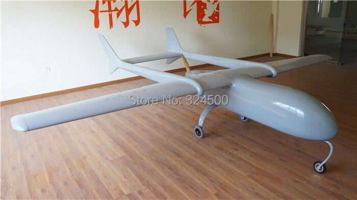 Super Enorme MUGIN 4450 millimetri UAV (H) t-tail Aereo Piattaforma Aircraft FPV Radio Remote di Controllo H T di Coda RC Modello di Aereo FAI DA TE Giocattoli Drone