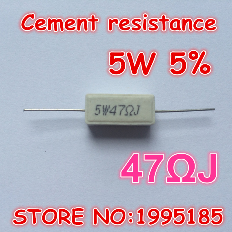 QTY 2-10 watt ceramic cement power resistor 2k ohm