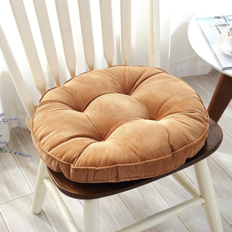 Round Thick Chair Cushion Floor Mattress Seat Pad Soft Home Office Chair Cushion Mat Soft Throw Pillow Top Quality Floor Cushion