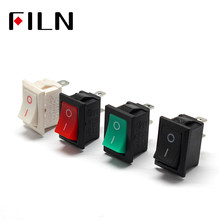 KCD1-101 MRS-101 2 Pin Off Snap-In Rocker Switch Mini Switch 21X15 Mm 6A250VAC 10A 125VAC(China)