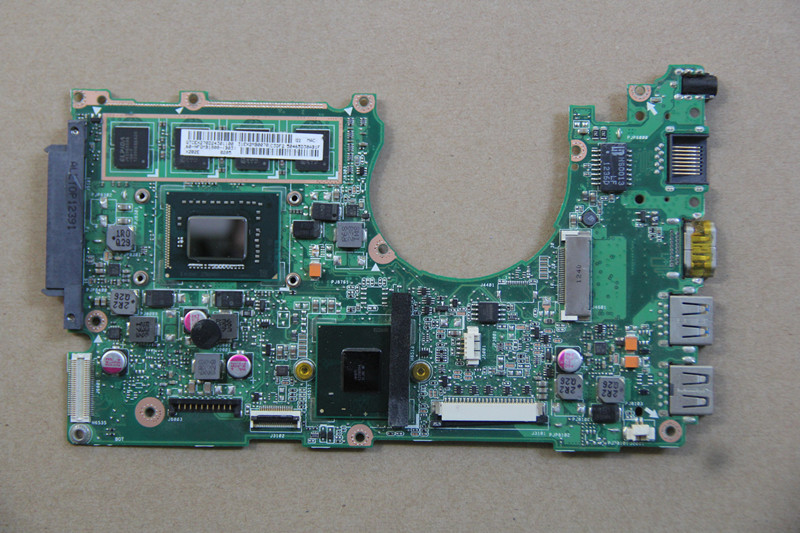 60-NFQMB1800-B03 For ASUS X202E Laptop motherboard with I3-2365M CPU Onboard HM76 fully tested work perfect original for asus k46cm rev2 0 with 987 cpu motherboard 60 ntjmb1101 c03 1g hm76 chipset gt635m 2gb ddr3 work perfect