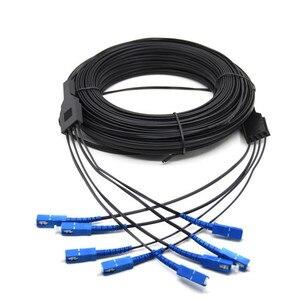 Image 2 - 100 m outdoor SC Ftth Dromp Cavo Simplex Monomodale G657A patch cord In Fibra ottica FTTH fibra ottica Cavo di ponticello