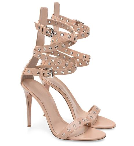 Classic Ladies summer nude cross tied high heel open toe hollow sandals Super high thin heel high heels Rome shoes Dress shoes asumer black apricot fashion summer ladies shoes cross tied peep toe high heel sandals shoes elegant wedding shoes thick heel