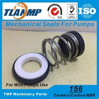 156 25 Wilo Pump Mechanical Seals Material Ceramic Carbon NBR Shaft Size 25mm Single Spring Water