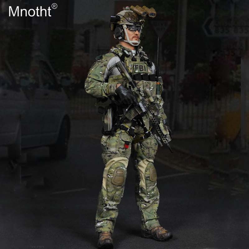 Mnotht 1:6 ES 26014 FBI Male Sodlier Clothes Combat Suit Accessory Model Toys for 12in Action Figure Collection m3nMnotht 1:6 ES 26014 FBI Male Sodlier Clothes Combat Suit Accessory Model Toys for 12in Action Figure Collection m3n