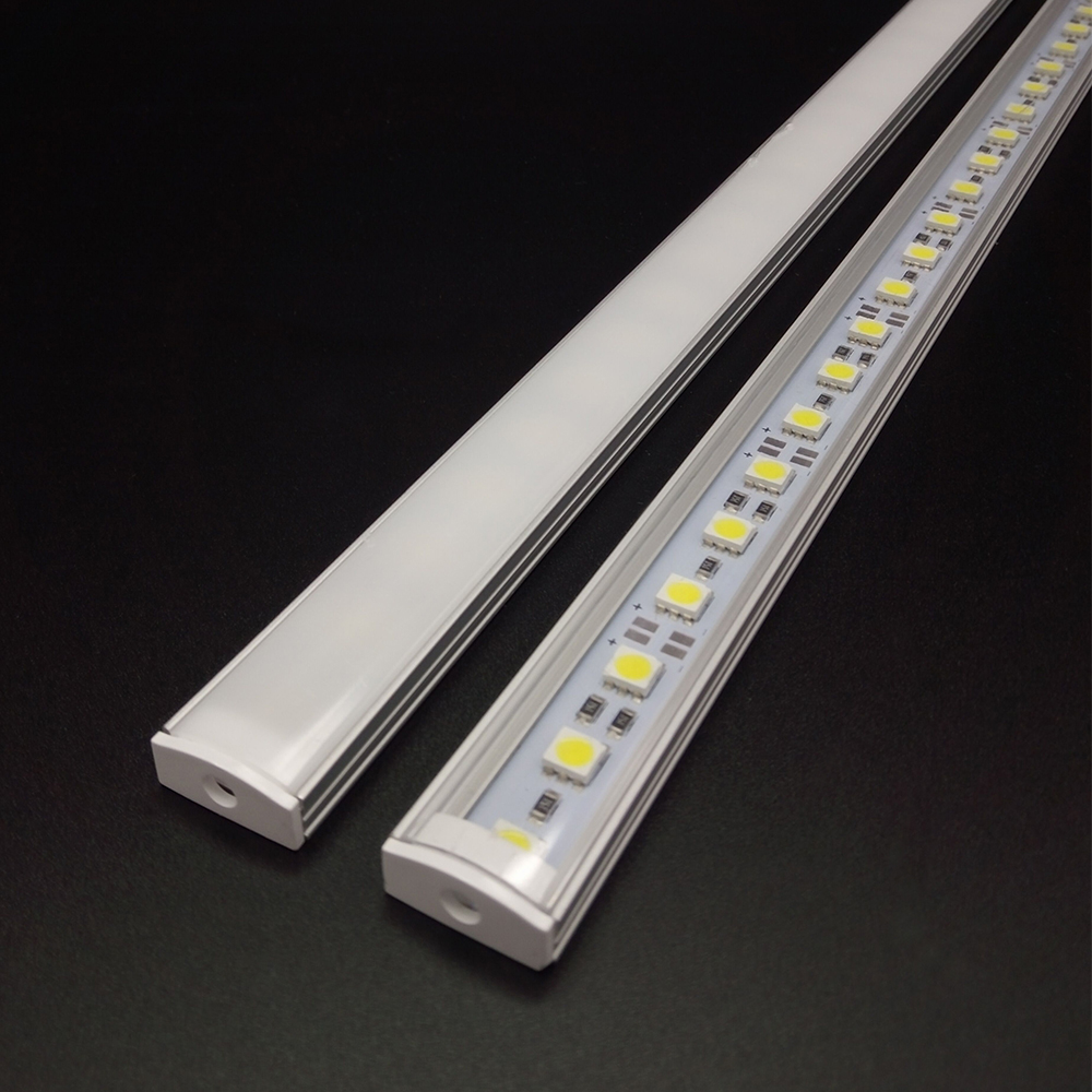 Kök Ljuskompetent DC12V 5050 LED Hård Stabil LED Strip Bar Ljus + U - LED-belysning - Foto 3