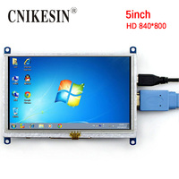 CNIKESIN 5 inch HDMI LCD Display Screen Displayer Application Raspberry pi 3 Generation BB BLACK Computer