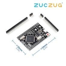 Mega 2560 PRO (Embed) CH340G/ATmega2560 16AU, con maschio pinheaders. Compatibile per Mega 2560.
