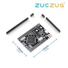 Mega 2560 pro (embed) ch340g/ATmega2560 16AU, com pinos masculinos. Compatível para mega 2560.