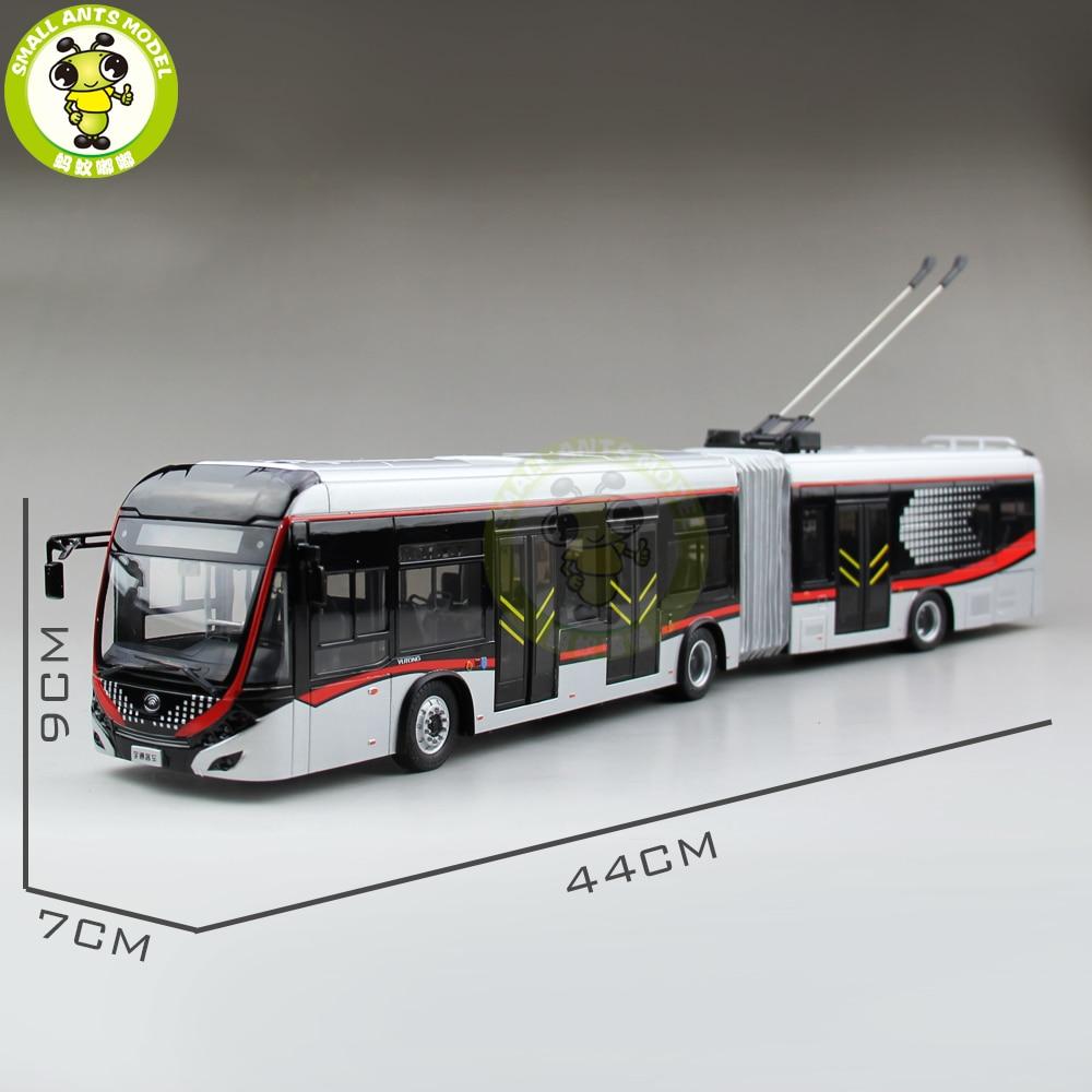 1/42 YuTong Bus ZK5180A Stadt Bus Trolleybus Gelenk bus Diecast Bus Modell Geschenk Sammlung Hobby-in Diecasts & Spielzeug Fahrzeuge aus Spielzeug und Hobbys bei  Gruppe 1