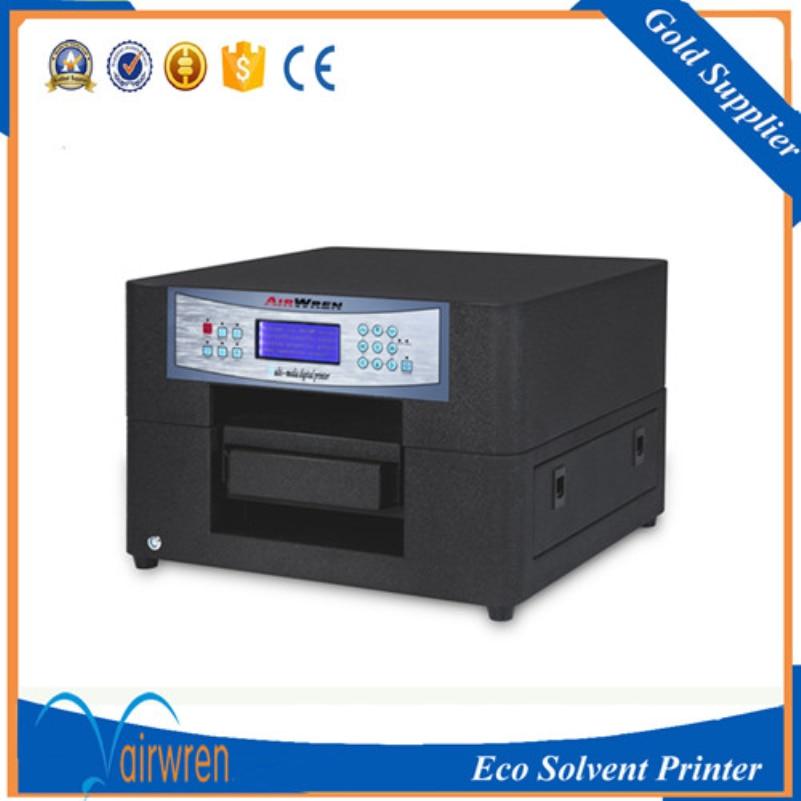 Economic eco solvent printer small size flatbed printer machine for mobile phone case  цены