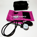1x New Blood Pressure Monitor BP Cuff Arm Aneroid Sphygmomanometer PINK
