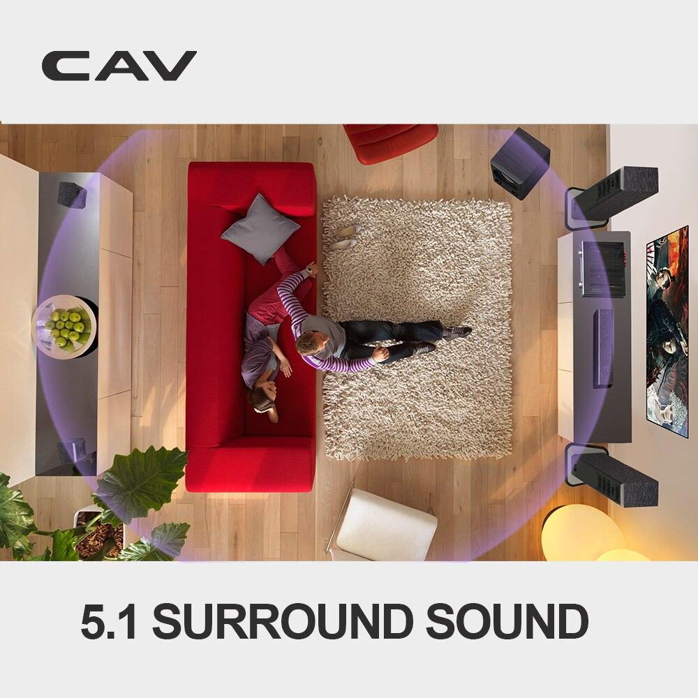 Электрические плиты CAV IMAX Домашний кинотеатр 5,1 система Smart Bluetooth Multi 5,1 объемный звук домашний кинотеатр система 3D объемный звук музыкальный центр (Фото 3)