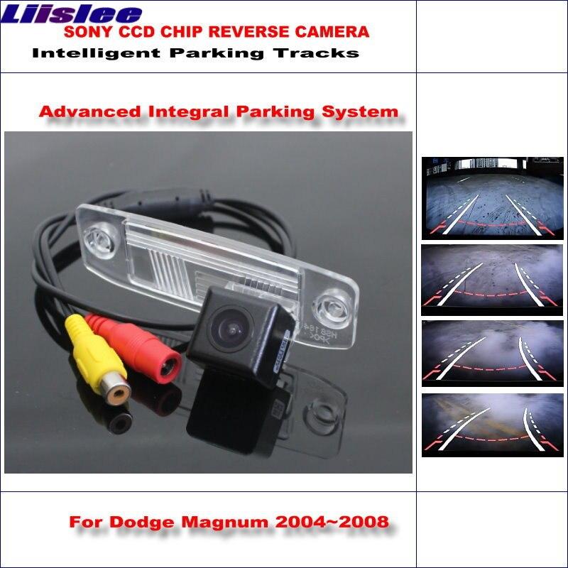 HD CCD SONY камера заднего вида для Dodge Magnum 2004 ~ 2008 интеллектуальная парковка треков обратный резервный/NTSC RCA AUX 580 ТВ линий