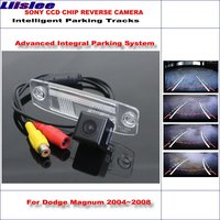 Liislee HD CCD SONY Rear Camera For Dodge Magnum 2004~2008 Intelligent Parking Tracks Reverse Backup / NTSC RCA AUX 580 TV Lines