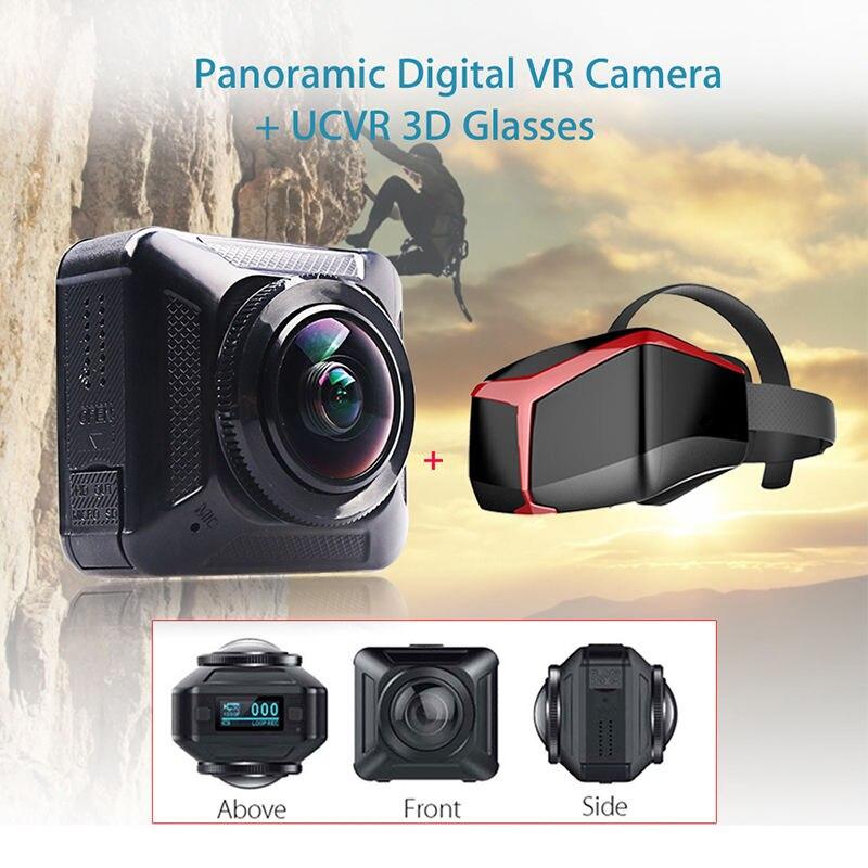 BOBLOV 360 Degree Panoramic 1080P Wifi Digital VR 0.82