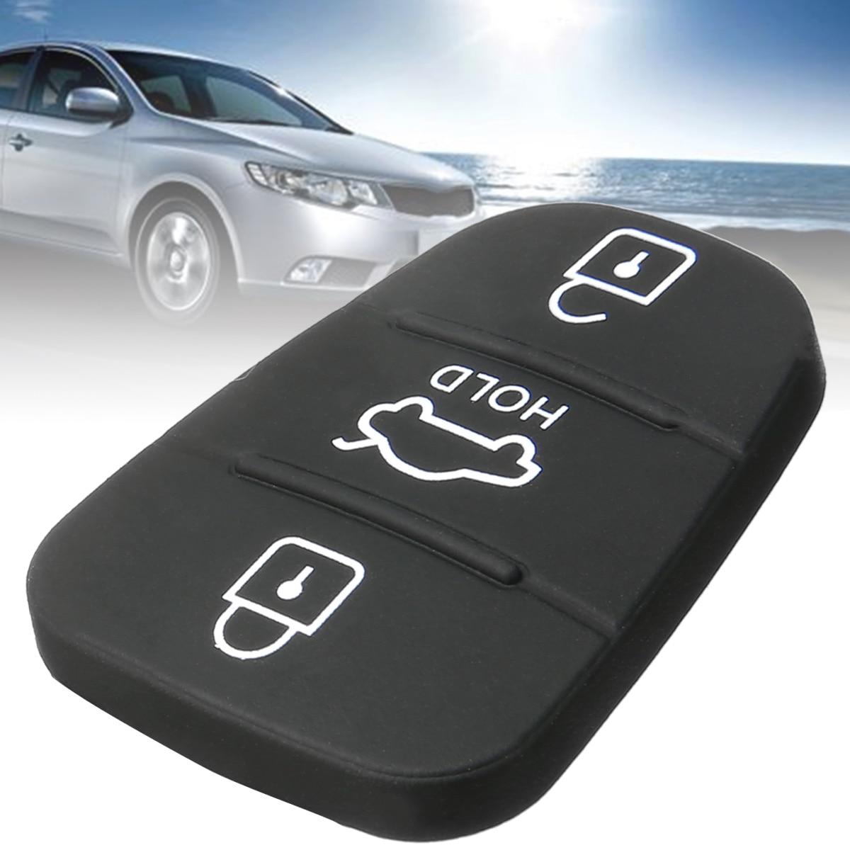 1pcs 3 Buttons Car Key Pad Flip Key For Hyundai i20 i30 Kia Solaris Rio Sorento Sportage Ceed