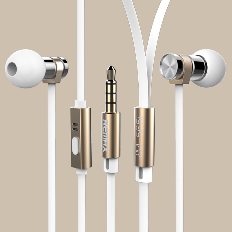 Remax RM-565 Headset Base-Driven High Performance Stereo earphone with Microphone and wire control for iso Android phone remax rm 610d base driven high performance stereo earphone with microphone and in line control rm 610d