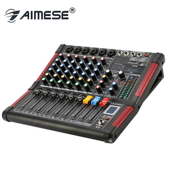 BT-600 Karaoke Audio Mixer Controller 6-channel mixer with Bluetooth  Microphone With USB Built-in 48V Phantom Power