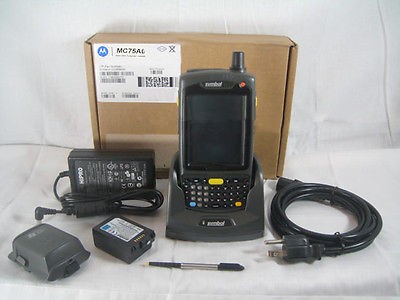 Motorola Symbol MC75A MC75A6 Wireless 1D / 2D Barcode Scanner Windows Mobile 6.5 USB CRADLE Sync Charger BlueTooth Embedded 4G 2d wireless barcode area imaging scanner 2d wireless barcode gun for supermarket pos system and warehouse dhl express logistic