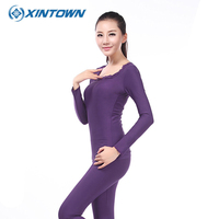 XINTOWN Cycling Jersey 2018 Colourful Warm Base Layer Full Sleeve Tights Sport Thermal Underwear Ladies Underclothes