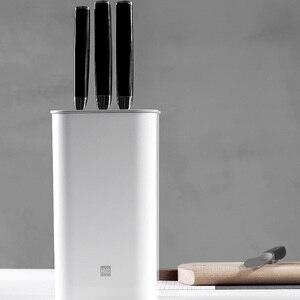 Image 4 - Huohou mutfak bıçağı standı takım tutucu çok fonksiyonlu alet tutucu bıçak bloğu ocak tüp raf Chromorphous