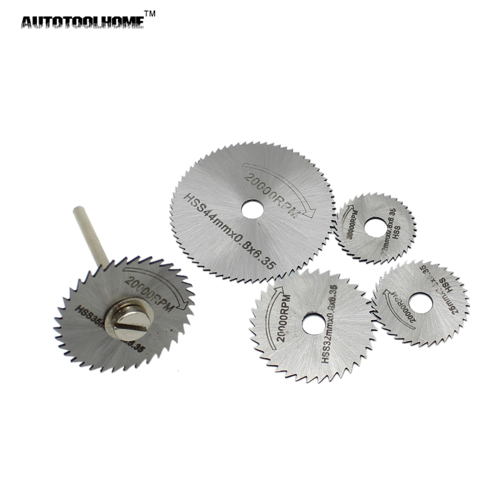 Autotoolhome 6pc hss mini circular saw blades set wood aluminum using the selected blade when your electric grinder smaller you need to select the smaller blades the more stable the smaller blade blade prone to keyboard keysfo Image collections