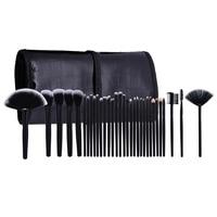 Professional 32 pcs Makeup Brushes Set For Women Fashion Soft Face Lip Eyebrow Shadow Make Up Brush Set with Bag