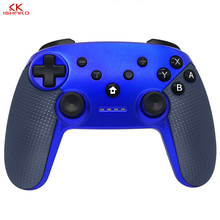Wholesale price Wireless Bluetooth Gamepad Game joystick Controller For Nintend Switch with Blue color wireless bluetooth game controller for nintend switch gamepad joystick for moblie phone games joystick