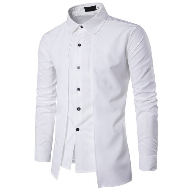 New style 2018 casual camisa dos homens