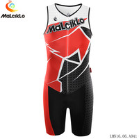 Malciklo sleeveless Triathlon cycling Jersey Maillot Ropa Ciclismo Hombre Men Summer Spider-Man MTB Racing Bicycle Clothing suit