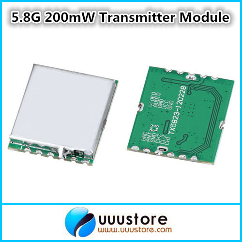 5.8G 5.8ghz 200mW 8CH Wireless AV Audio and Video Transmitter Module For FPV Aerial Photography Multicopter