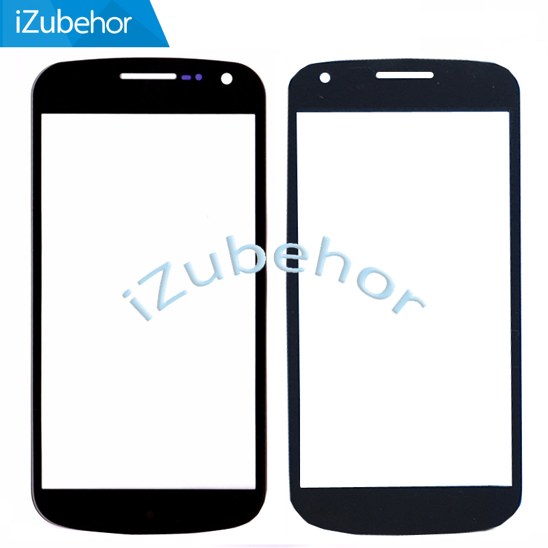 100% Warranty Outer LCD Front Screen Glass Lens Cover Replacement Parts For Samsung Galaxy Nexus 3 GT I9250 Nexus X Touch Screen