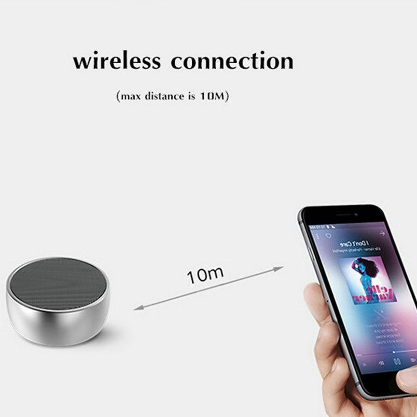 Mini Bluetooth-kõlarid Kaasaskantavad metalli traadita Super Bass - Kaasaskantav audio ja video - Foto 5