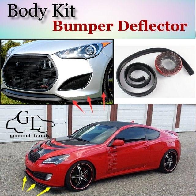 Charming Para Hyundai Genesis Coupe Pára Lábio/Spoiler Dianteiro Defletor Para  TOPGEAR Amigos Carro Tuning/