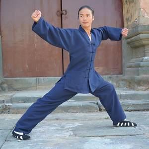 151aca767 Tai Chi Clothing Blue Black Color Mens Boys Chinese Kung Fu Clothes