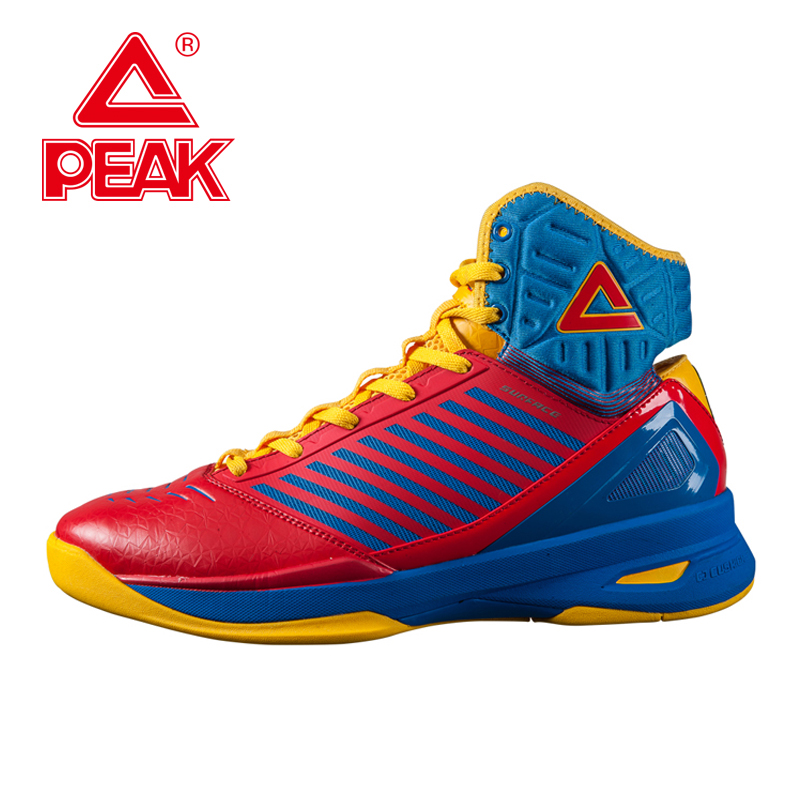 PEAK SPORT Speed Eagle Concept Models Men Basketball Shoes High-Top Breathable Sneakers Cushion-3 SURFACE Tech Boots EUR 40-48 peak men athletic basketball shoes tech sports boots zapatillas hombres basketball breathable professional training sneakers