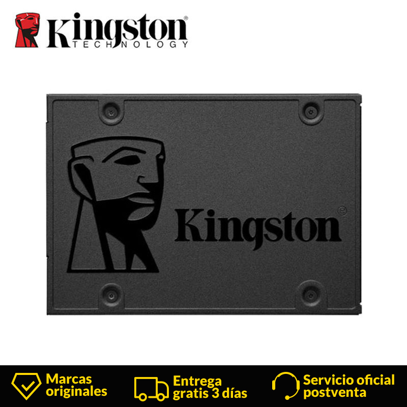 Kingston A400 SSD/HDD Interne Solid State Drive disque dur 120 GB 240 GB 480 GB 960 GB 2.5 pouces SATA III SSD/HDD HD pour Ordinateur Portable PC