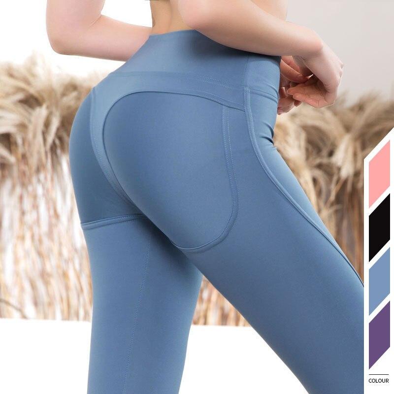 Ventre taille haute contrôle collants Leggins femme Gym Yoga pantalon tenue de Sport femmes sans couture Sport Leggings pour Fitness Sportswear