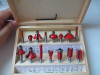 2015 New Arrival High Quality 15pcs Set 1 4 Tungsten Professional Shank Carbide Router Bit Set