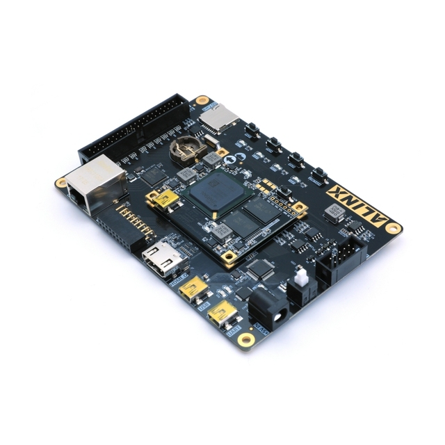 XILINX FPGA Spartan 7 XC7S50 Development Board Spartan7 PCB Core Board and IO expansion board with Gigabit Ethernet 1GB DDR3