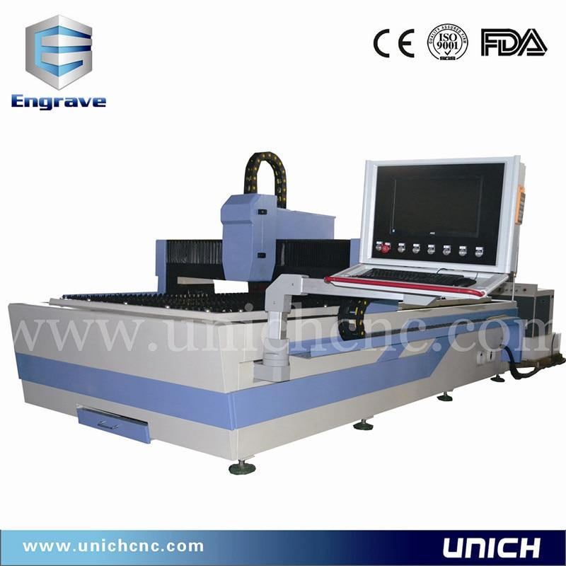 Unich Fast Speed Fiber Metal Laser Cutting Machine Carbon