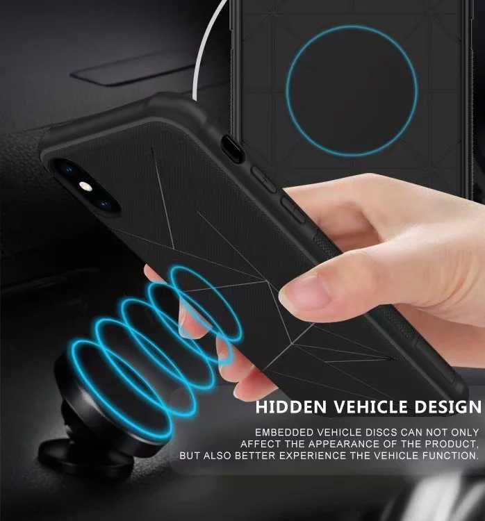 Shockproof car magnet Silicone Cases for Samsung Galaxy J2 J4 J5 J6 J7 Duo  A6 A8 2018 2017 2016 Prime s9 Plus G530 non-slip Case