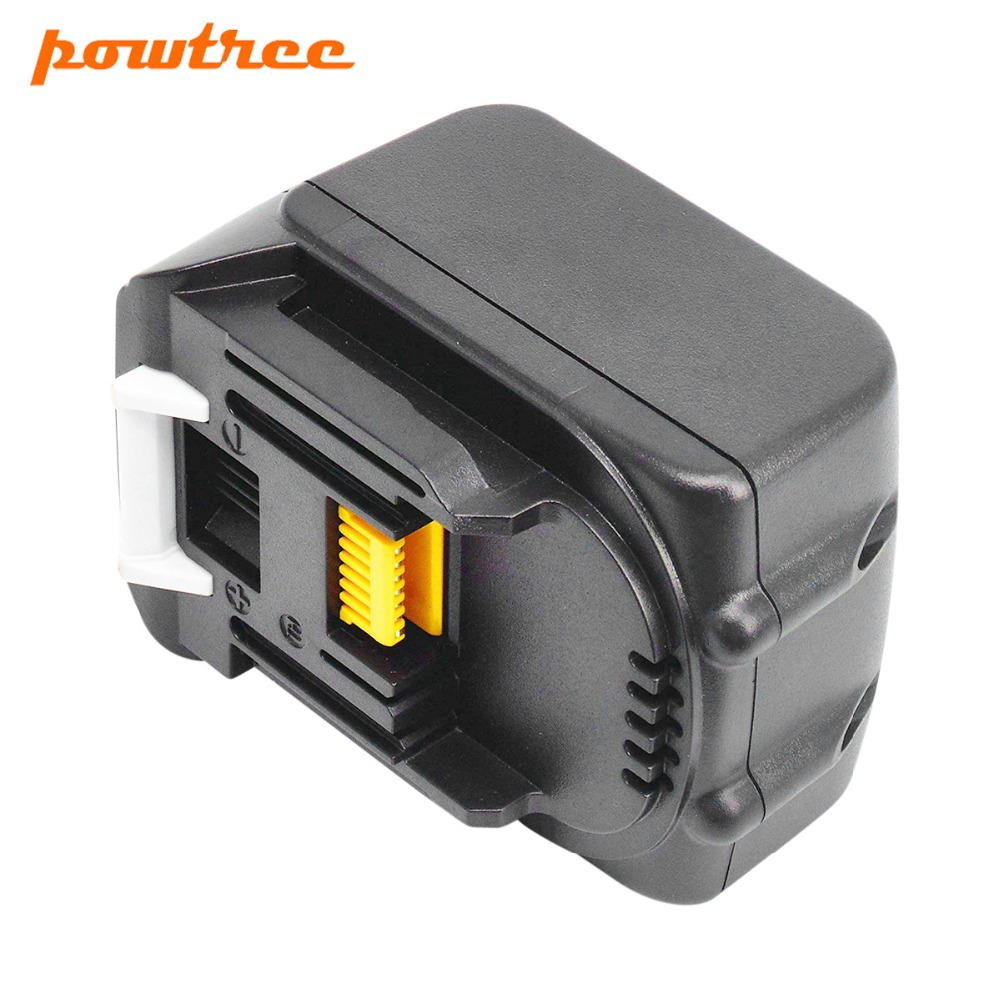 Powtree New 14.4V 3000mAh For Makita BL1430 Replacement Rechargeable Lithium Ion LXT200 BL1415 194558-0 194559-8 L30