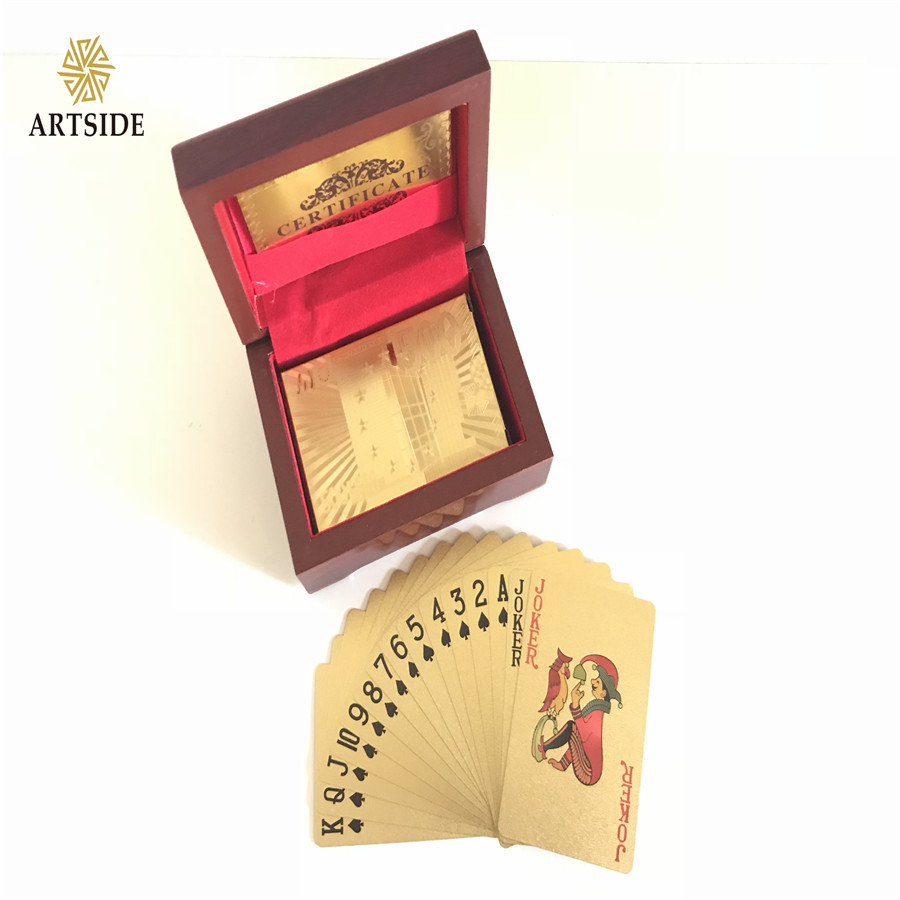 Drop Ship Deal EURO 500 24K Gold-Plated Playing Cards With Case And Certificate ...