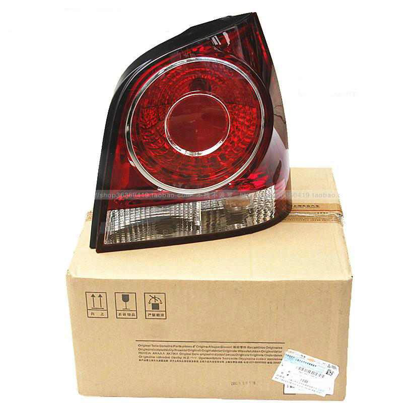 VW 2006-2010 POLO Rear lamp Taillight shell Taillight cover Light bulb with a circuit board popular new polo polo modified gti taillight 11 13 new polo taillight modification